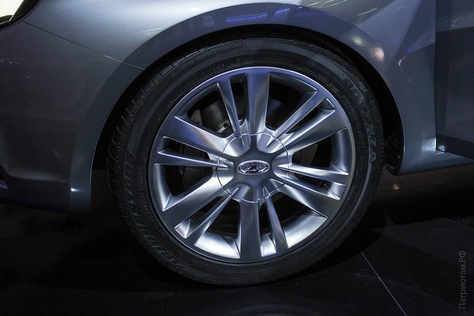 лада веста размер колес