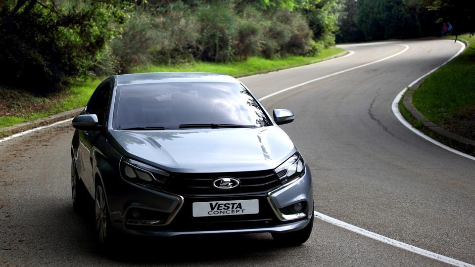 Обзор Lada Vesta
