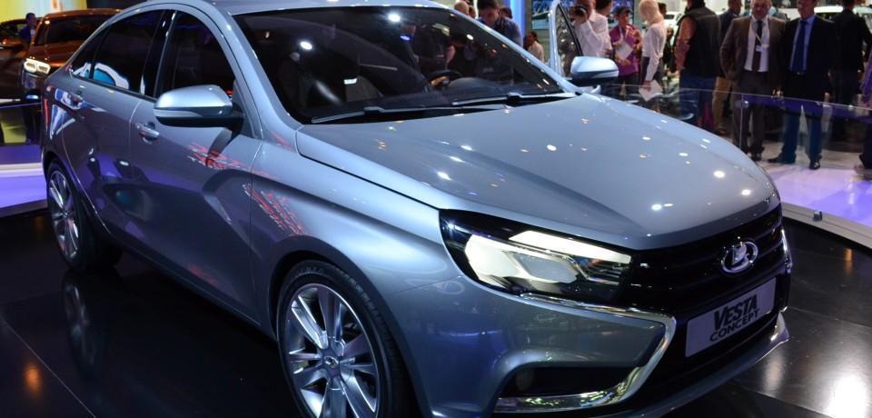 LADA Vesta седан получил старт в своём серийном производстве