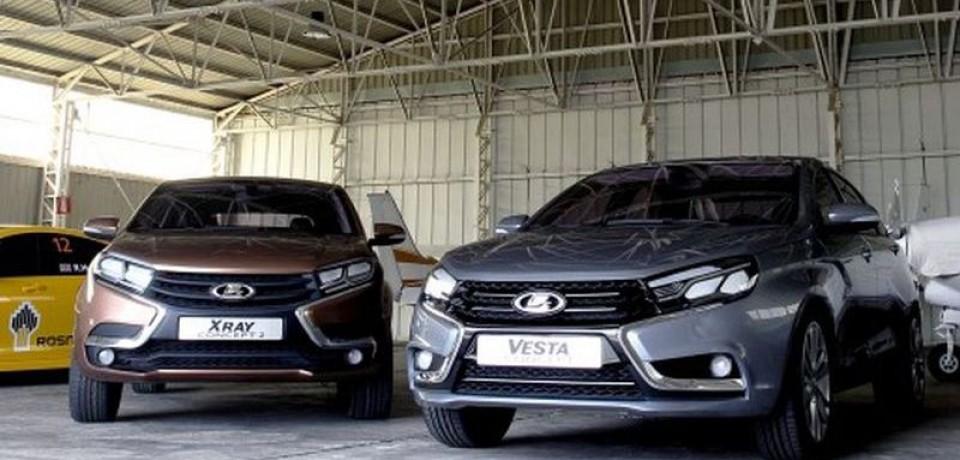 Интерьер нового седана LADA Vesta будет заполнен продукцией ВМЗ