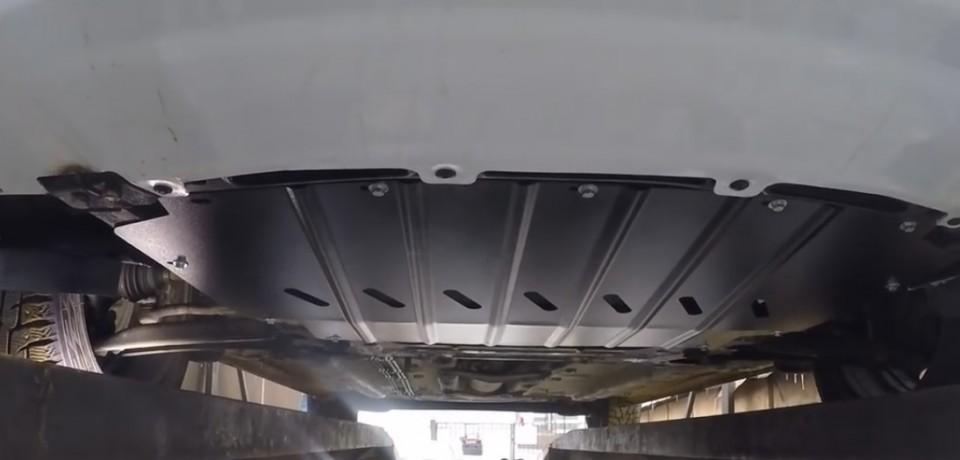 Установка защиты картера на Lada Vesta своими руками