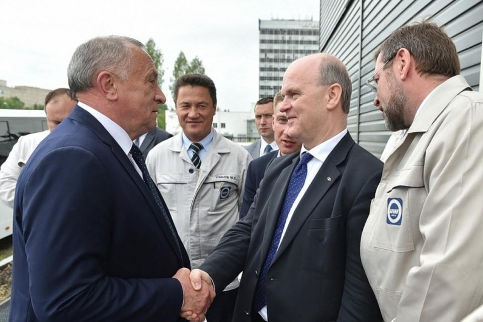 Помощь властей ижевскому подразделению ОАО «АвтоВАЗ»