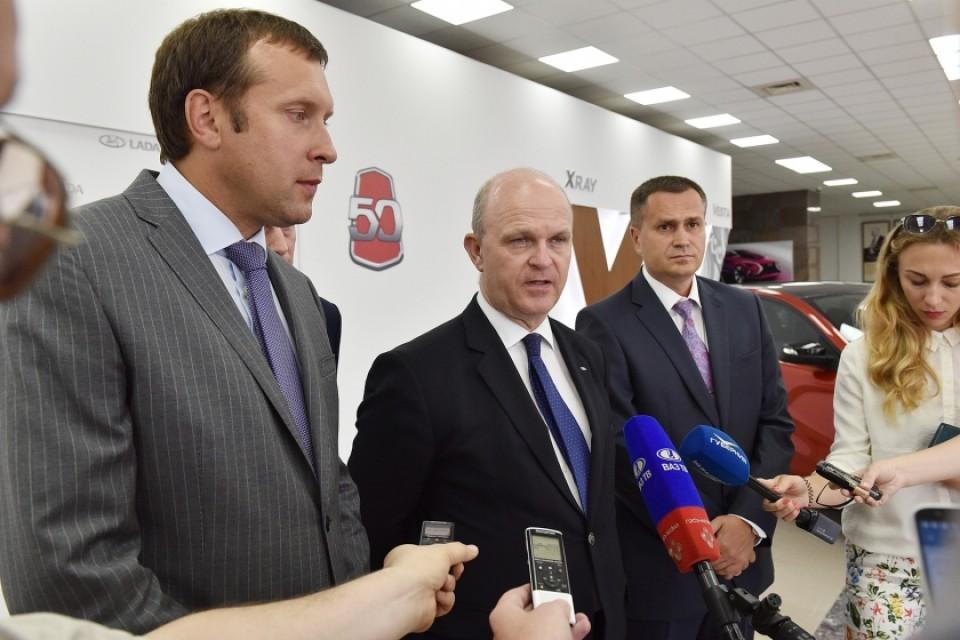 Увеличение доходов группы компаний АВТОВАЗ