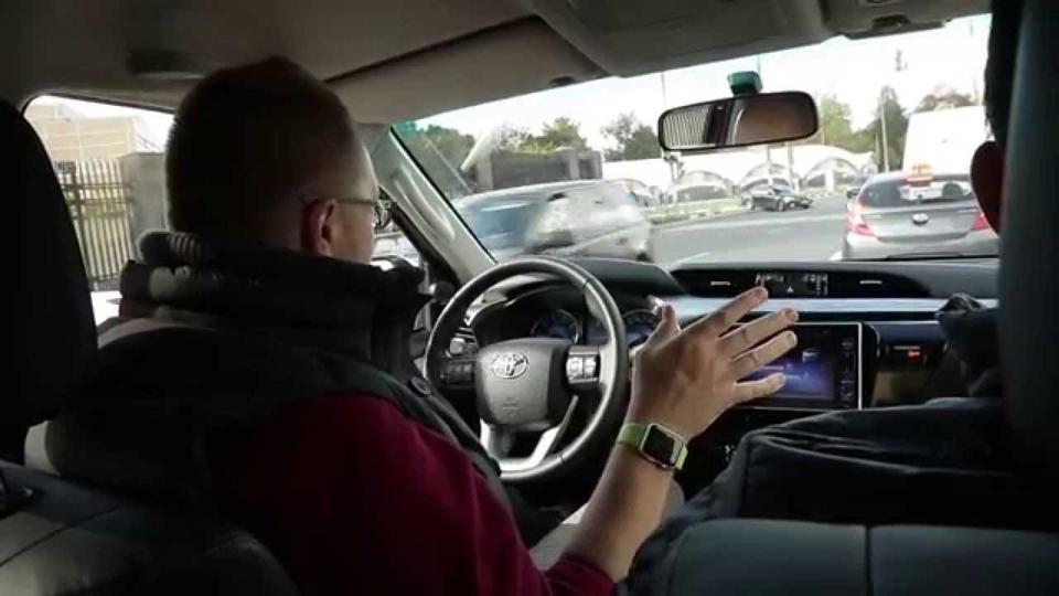 автомобиль тесла в передаче большой тест драйв