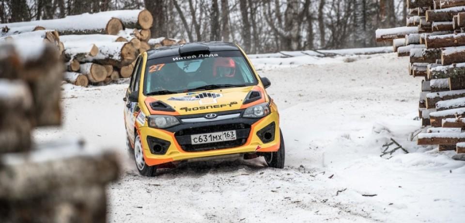Начинается гонка LADA Rally Cup