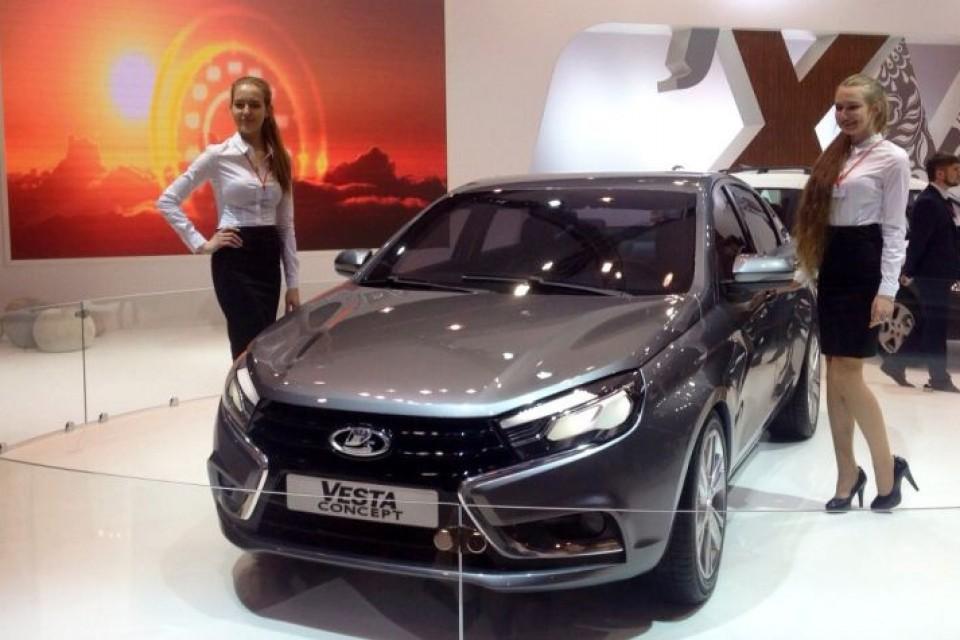 LADA Vesta в Новосибирске