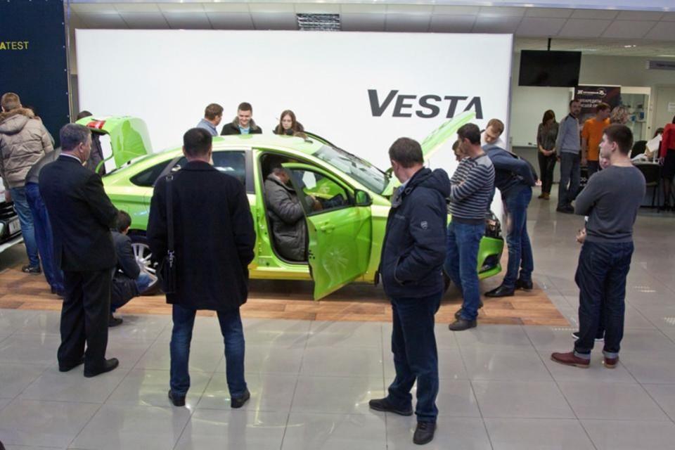 Встреча персональных менеджеров Лады Vesta с дилерами