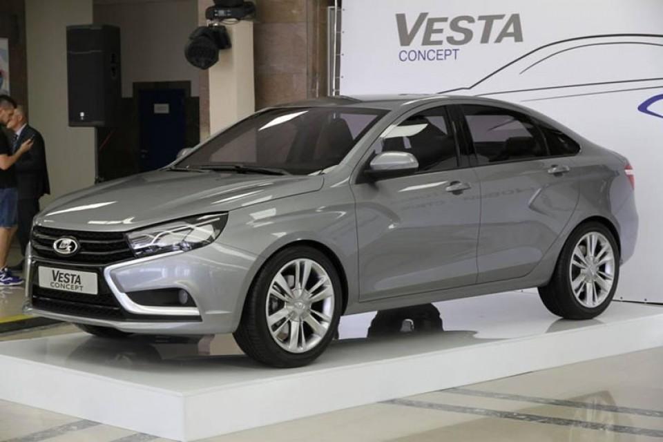 Ижевский автозавод покажет новый седан LADA Vesta