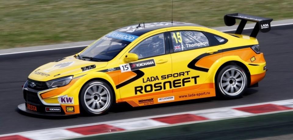 Венгерские очки для LADA Sport Rosneft