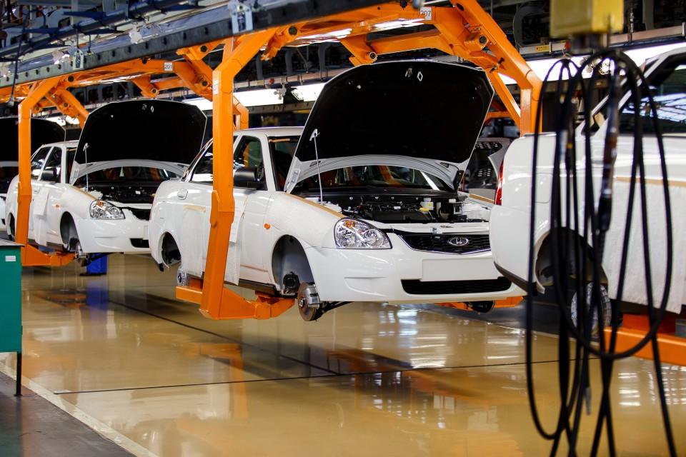 Открытие завода LADA в Казахстане