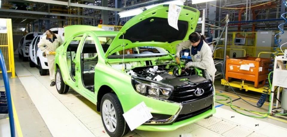 LADA Vesta будет собираться на Ижевском заводе
