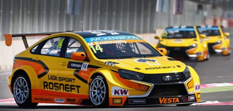 Сразу два болида LADA Vesta ТС1 вошли в десятку лучших в Германии