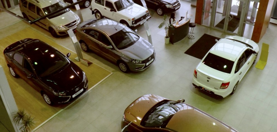 Открытие автоцентра LADA в Москве