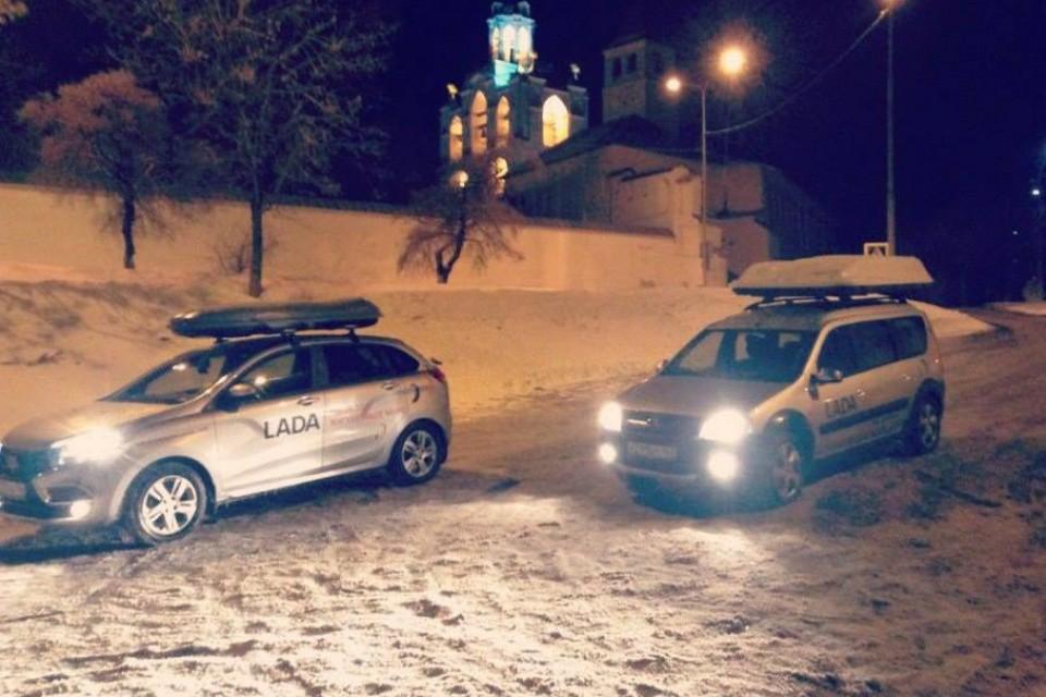 От моря к морю: автомобили Лада завершили автопробег