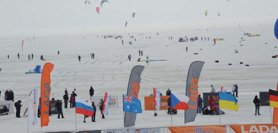 Завершение чемпионата по зимним видам парусного спорта