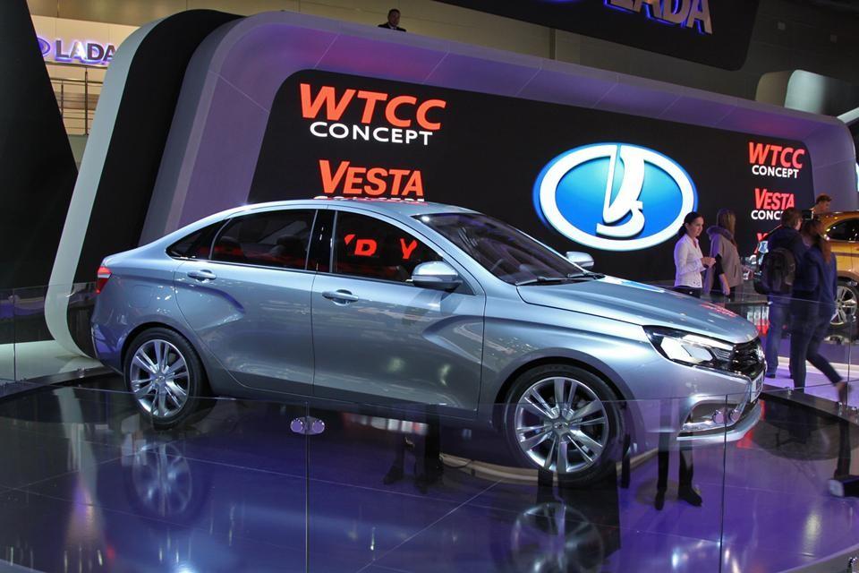 Новый автомобиль Лада Веста в исполнении Седан