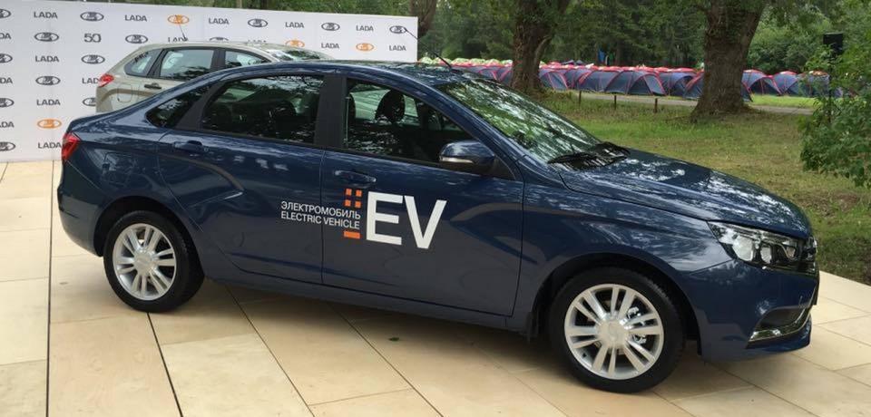 Версия Lada Vesta с электродвигателем для лучшей экологии и экономии