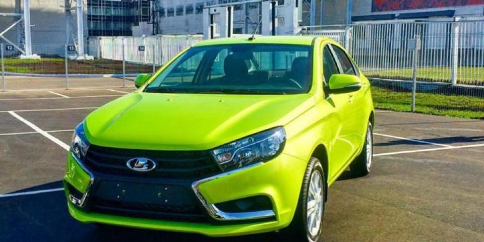 Стартовала продажа автомобилей Лада Веста в более чем 20 городах России