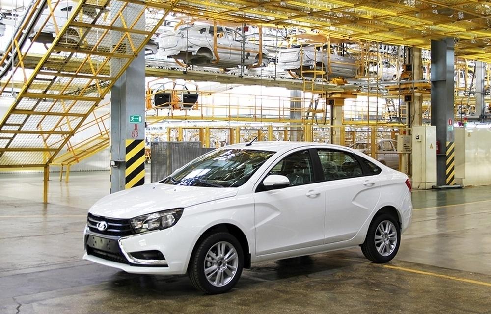 Казахстан подключится к производителям LADA Vesta