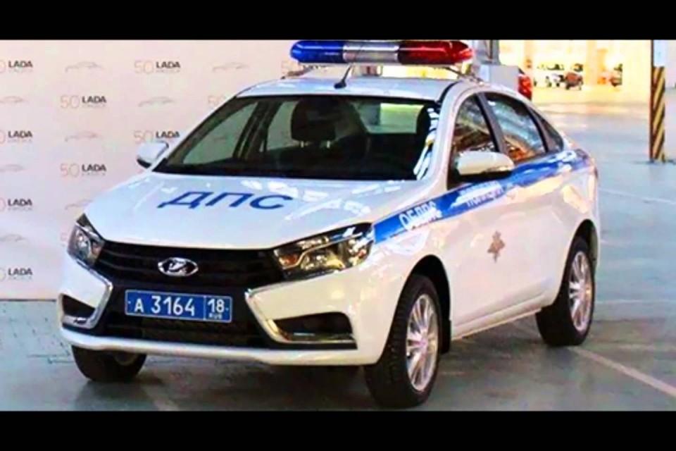 Lada – на страже закона и дорожной безопасности