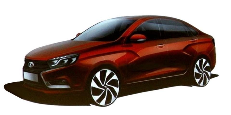 LADA Vesta входит в двадцатку самых продаваемых автомобилей