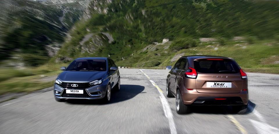LADA Vesta и LADA XRay станут стартовой площадкой для АвтоВАЗ