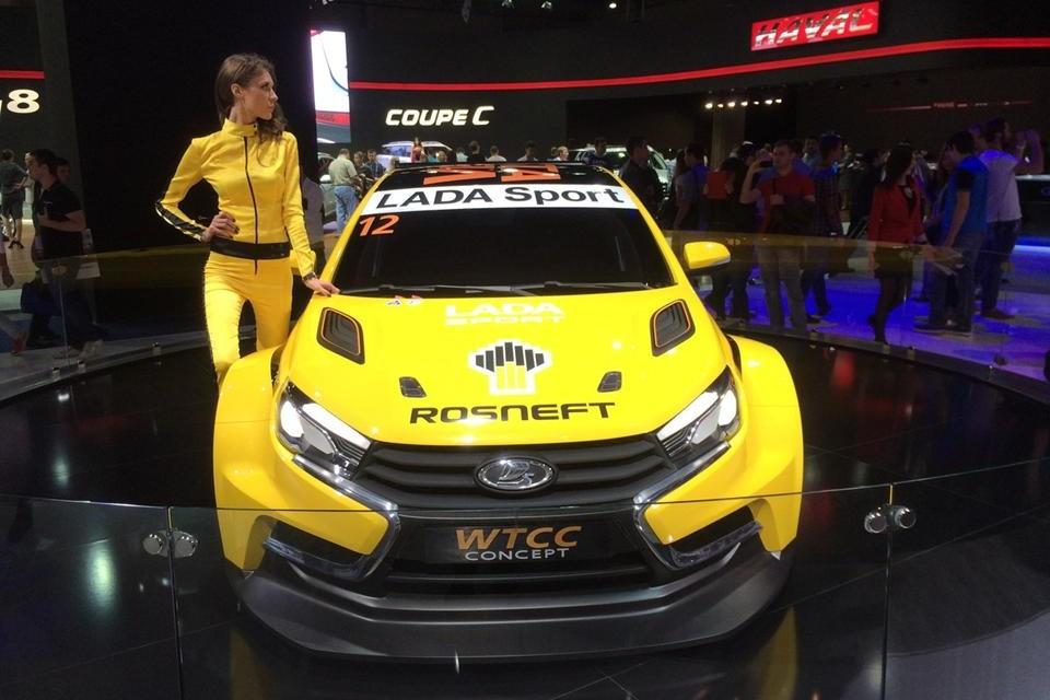 LADA Vesta готова к участию в гонках WTCC