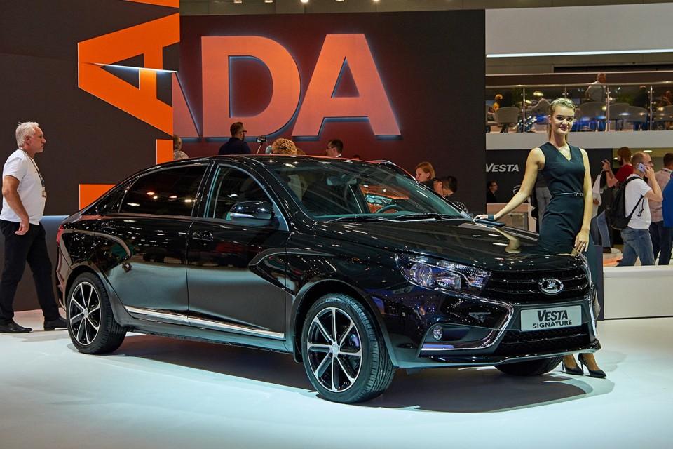 Старт продаж обновленной LADA Vesta