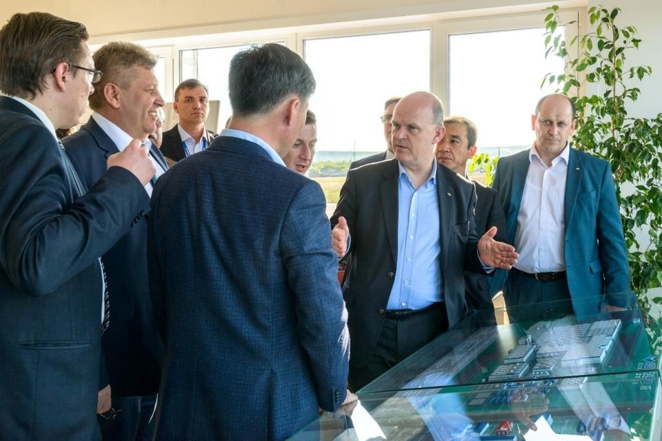 Николя Мор побывал с рабочим визитом в Казахстане