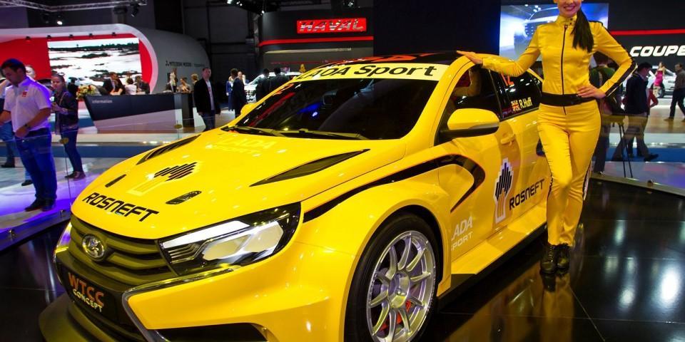 Спортивная Лада для гоночной трассы — модель Веста Спорт WTCC