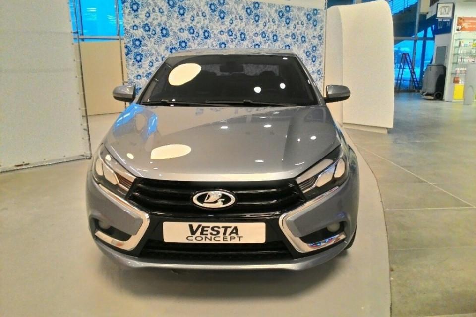 Официальное представление второго тизера LADA Vesta