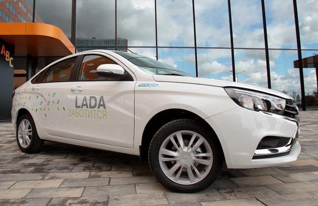 Электрическая Lada Vesta