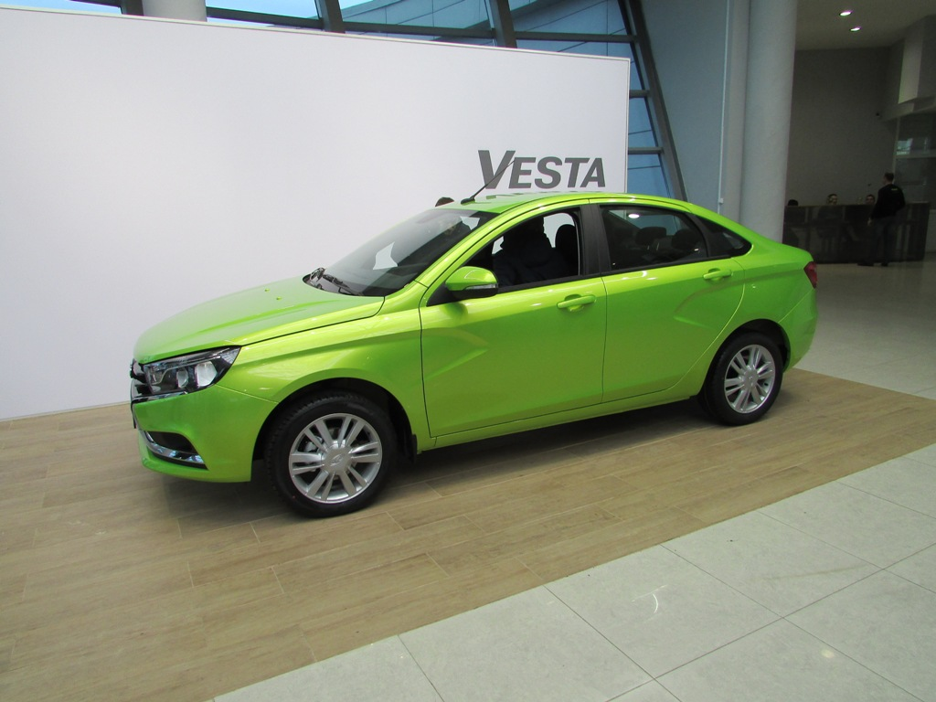 Презентация - Lada Vesta в Казани