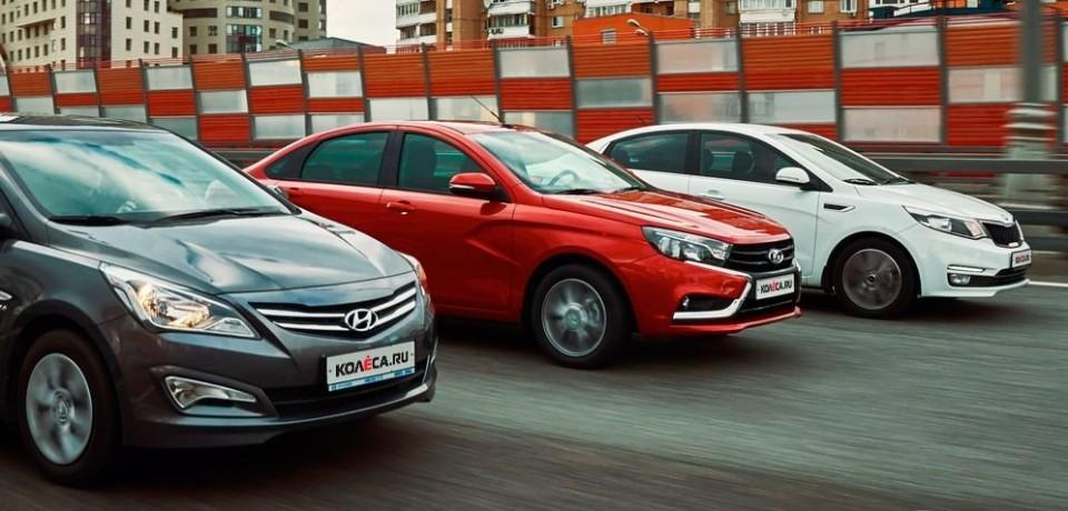 Оценка от Hyundai и сравнение Hyundai Solaris с Lada Vesta