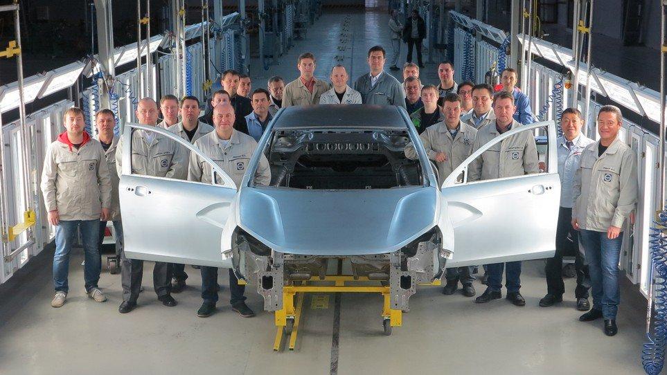 25 сентября в Ижевске начнется производство LADA Vesta