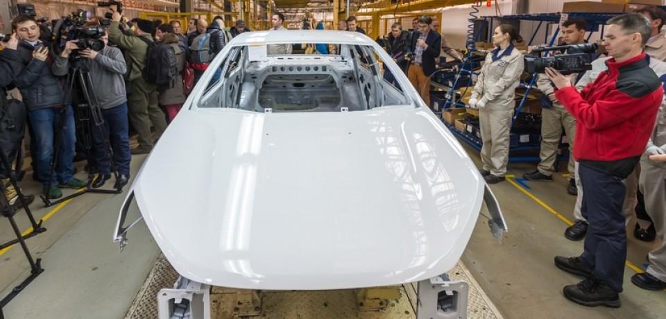 Ижевский автозавод ведёт подготовку к сварке кузова LADA Vesta