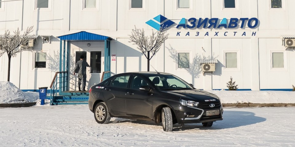 В 2016 году Казахстан подключится к производителям LADA Vesta
