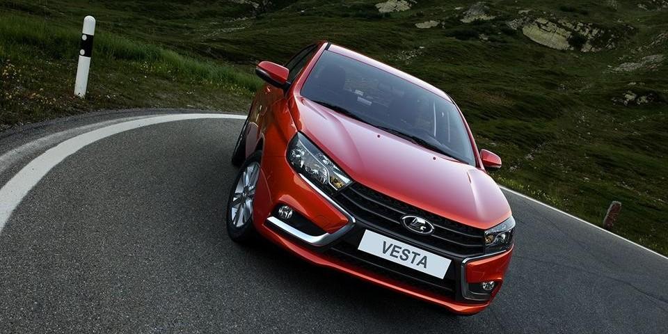 LADA Vesta – приз за участие в конкурсе «Рейтинги Автогода»