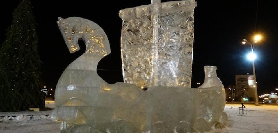 Ледяные изваяния Х стиля