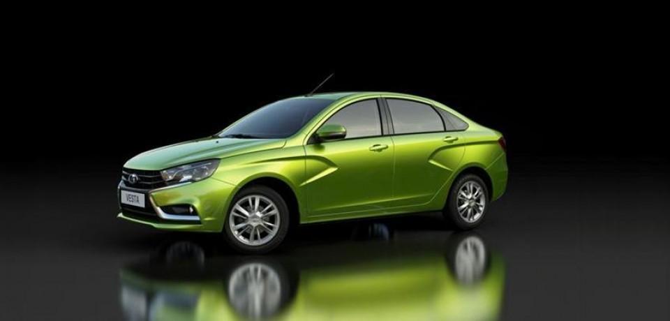 ЛАДА ВЕСТА в рунете получила статус самой популярной автомодели