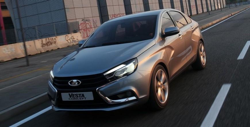 Замена масла на Lada Vesta